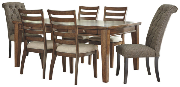 Flynnter Signature Design 7-Piece Dining Room Package