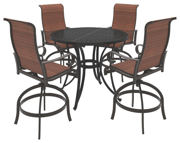 Burnella Signature Design 5-Piece Outdoor Seating Package