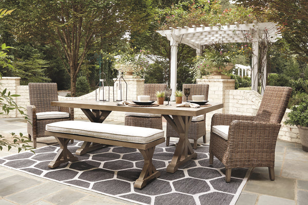 Beachcroft Signature Design 6-Piece Outdoor Seating Package