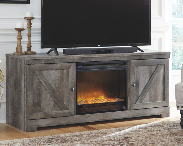 Wynnlow 63 TV Stand with Electric Fireplace
