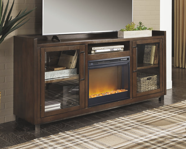 Starmore 70 TV Stand with Electric Fireplace