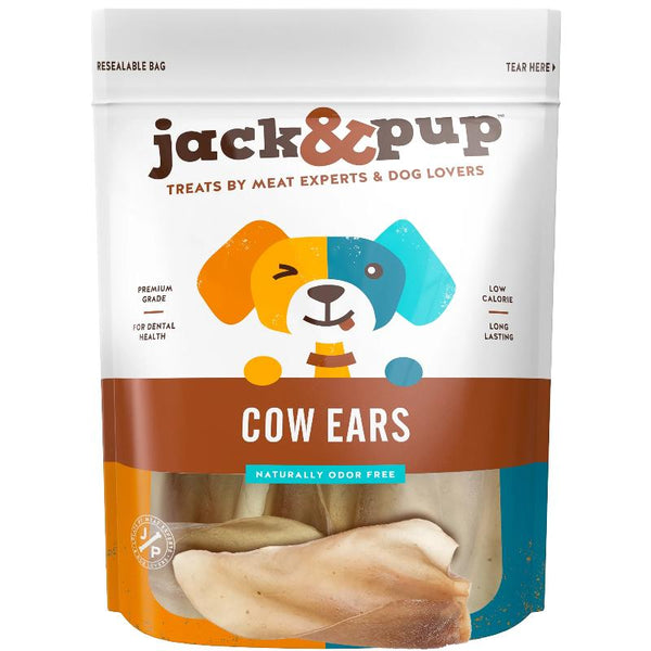 Cow Ears - 8 Inch Natural