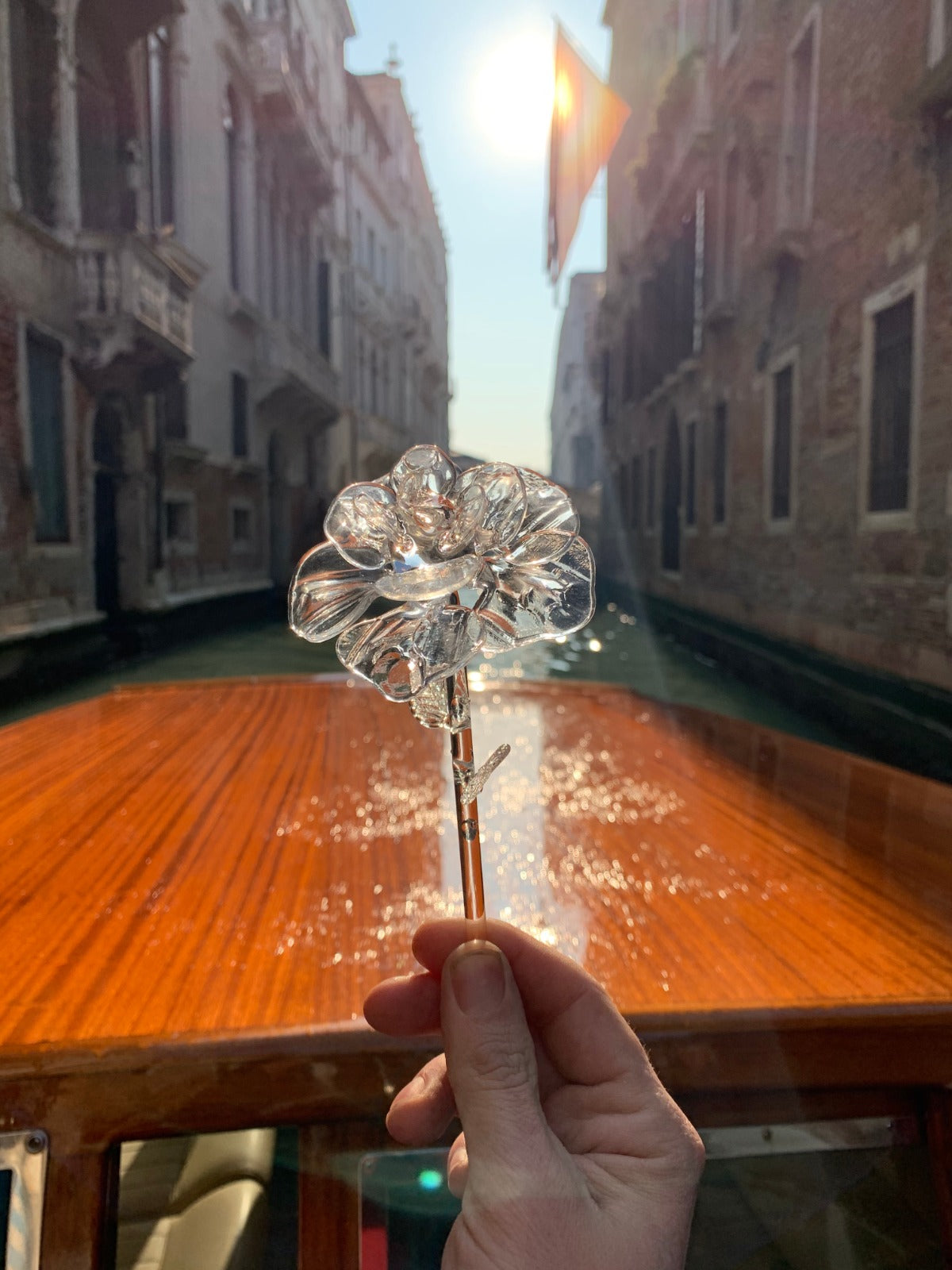 Bocolo - Rose made of Murano Glass