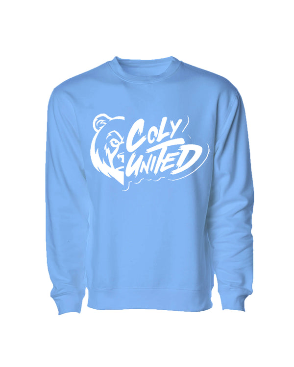 Coly United Crewneck Sweater - Light Blue