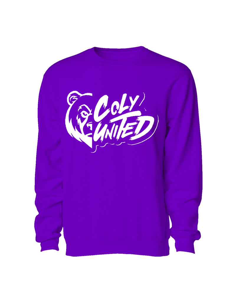 Coly United Crewneck Sweater - Purple