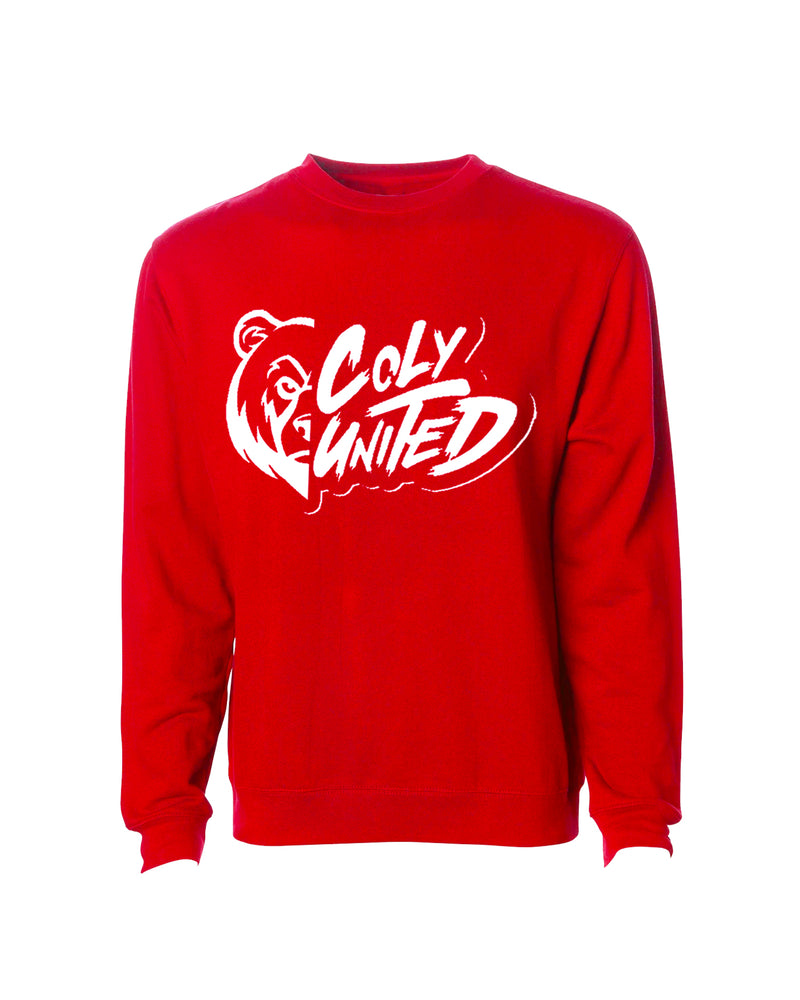Coly United Crewneck Sweater - Red