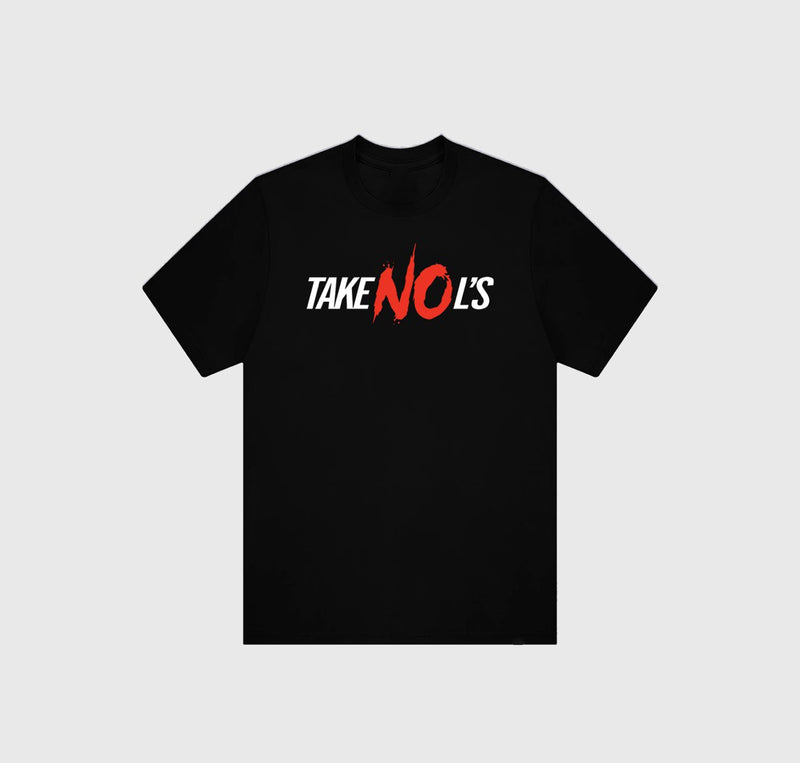 Take No L's T-Shirt - Black