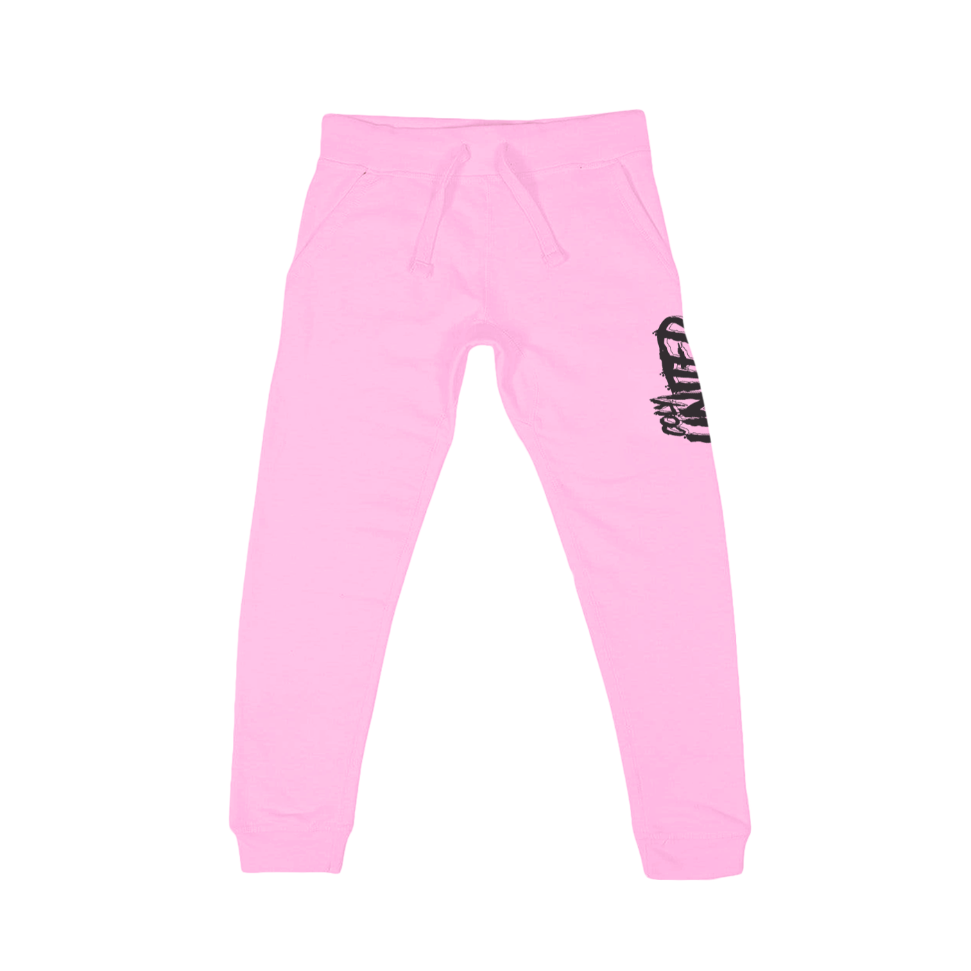 COLY UNITED JOGGERS - PINK/BLACK
