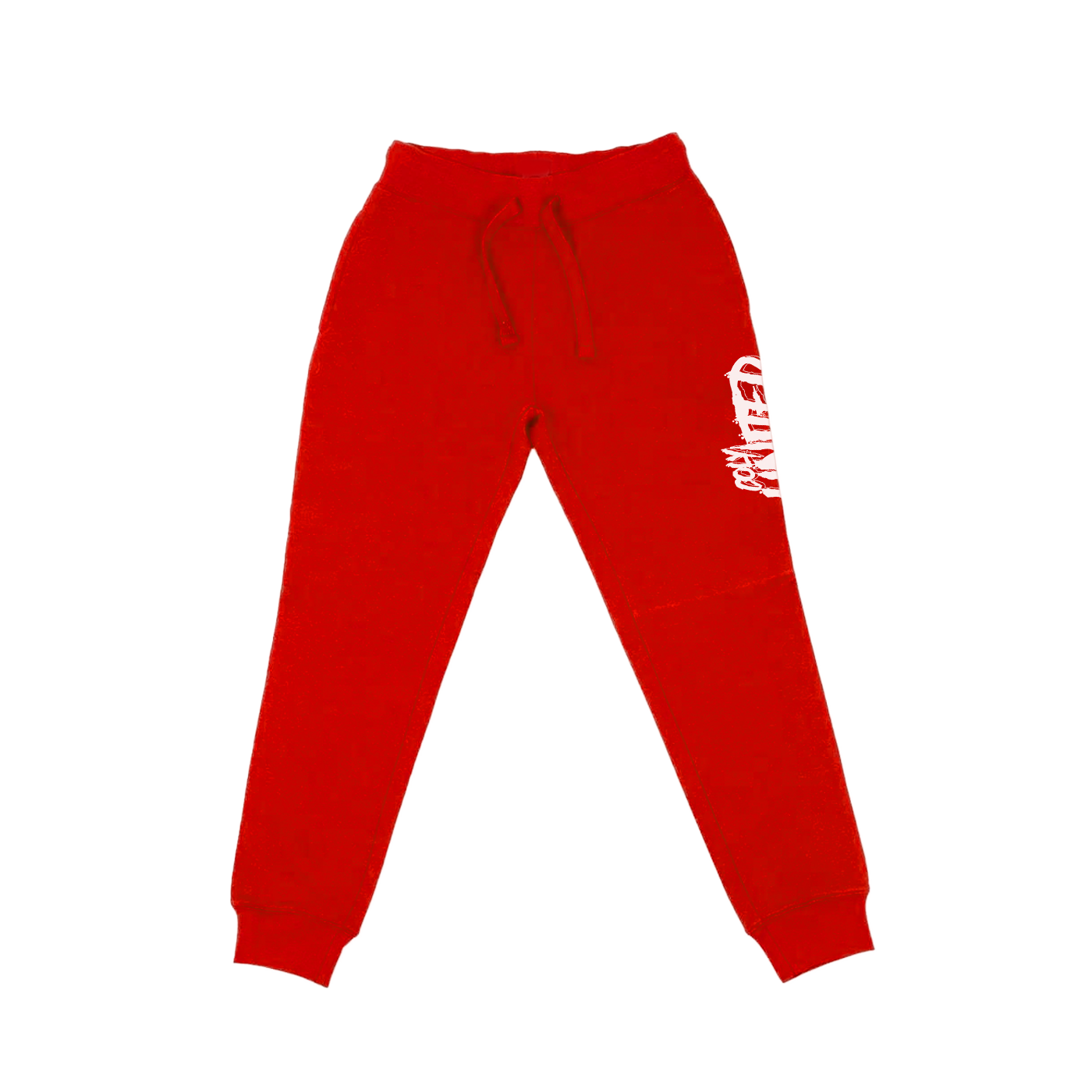 Coly United Joggers - Red/White