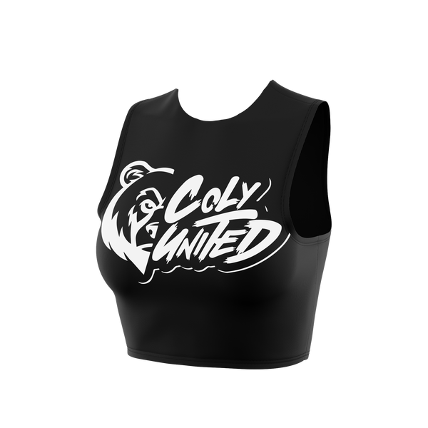 Coly United Sleeveless Crop Top