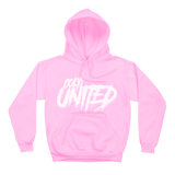 Coly United Hoodie - Pink/White