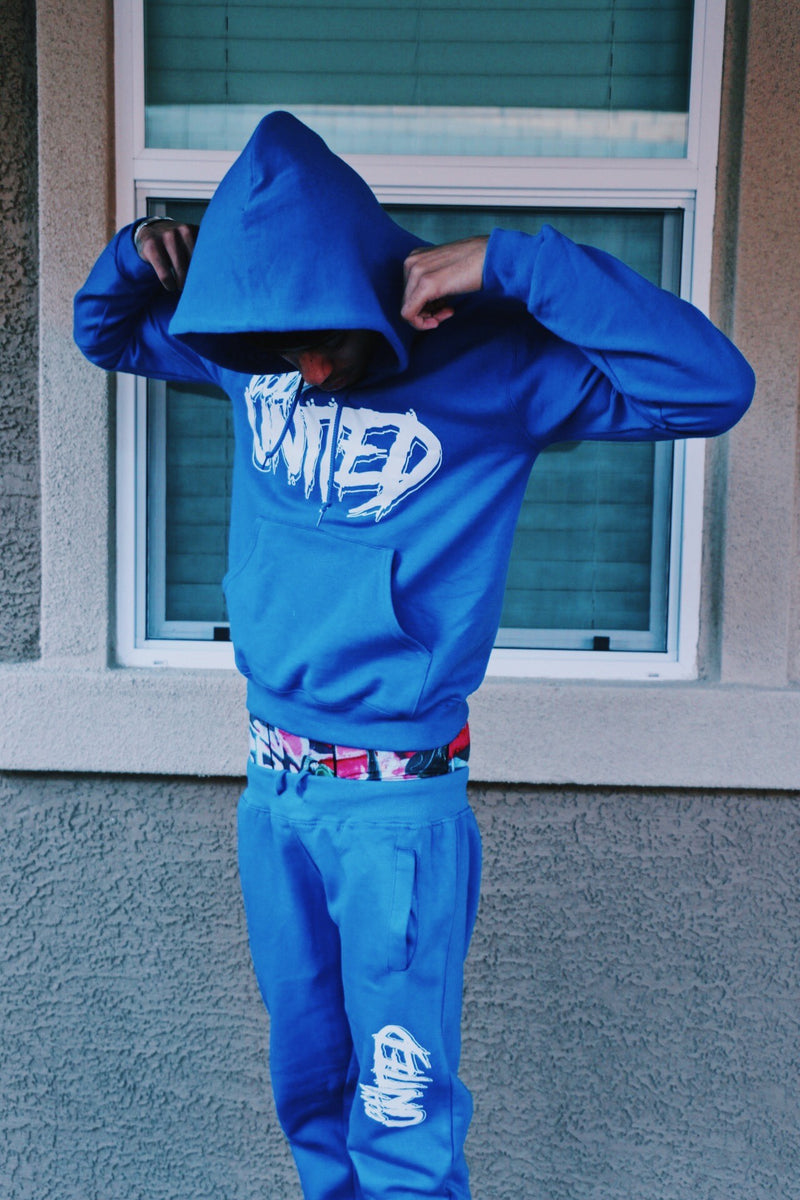 Coly United Joggers - Nipsey Blue