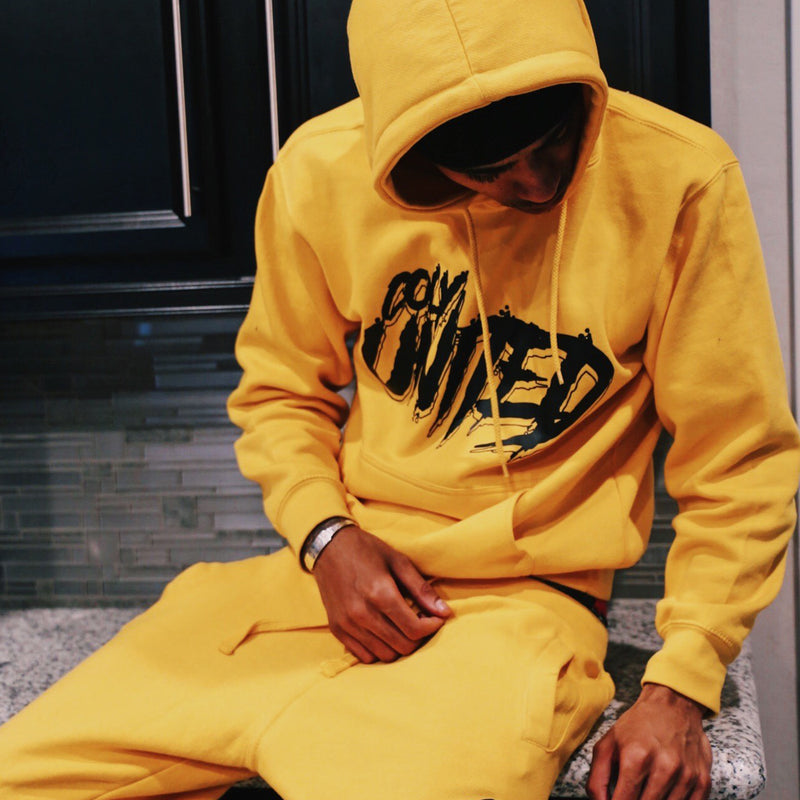 Coly United Hoodie - Yellow