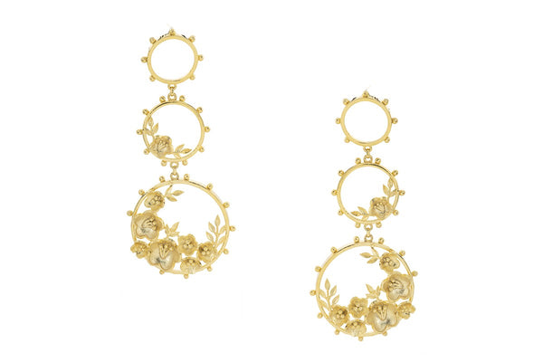 Floral Pahi Earrings