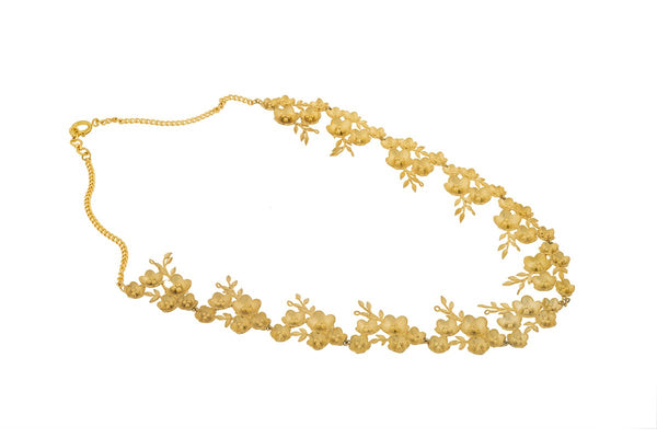 Gold Plated Kalina Necklace
