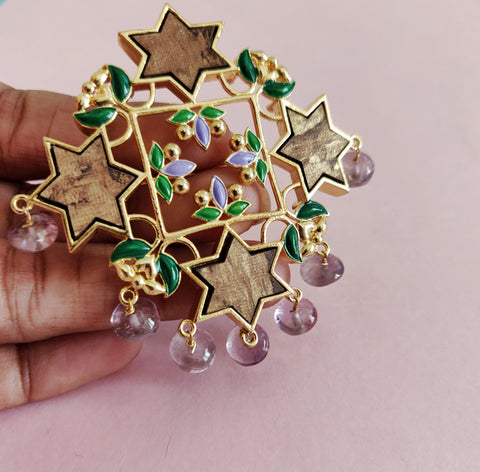 Sitara Statement Brooch