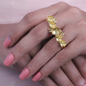 Malti Double Finger Ring