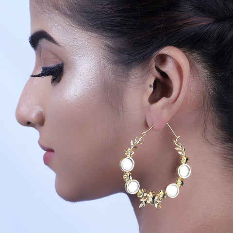 Saroja Hoop Earrings