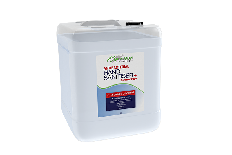Hand Sanitiser & Surface Spray (20L)