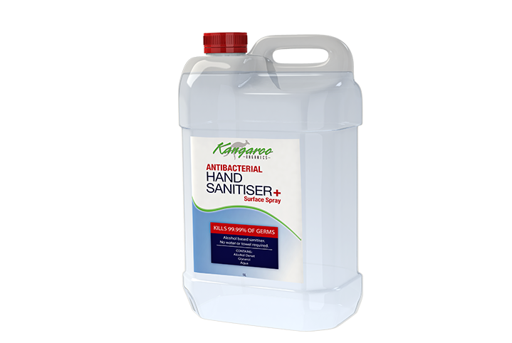 Hand Sanitiser & Surface Spray (5L)