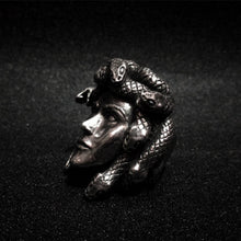 Load image into Gallery viewer, Medusa Snake Ring