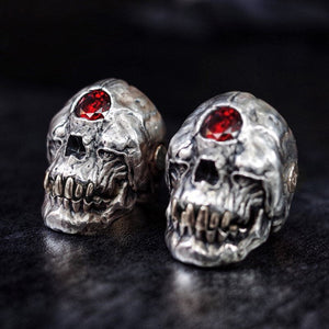 Cyclops Red Skull Ring