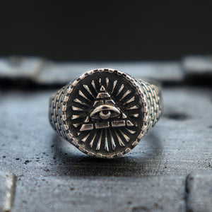 All Seeing Eye Ring