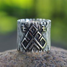 Load image into Gallery viewer, Rozhanitsa Amulet Rune Ring