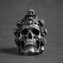 Load image into Gallery viewer, Santa Muerte Skull Ring