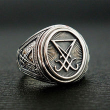 Load image into Gallery viewer, Sigil of Lucifer Ring