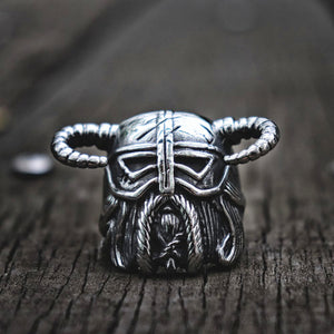 Vikings Horns Helmet Ring