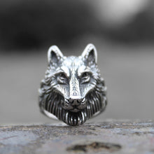 Load image into Gallery viewer, Nord Wolf Ring