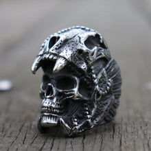 Load image into Gallery viewer, Indian Jaguar Warrior Ring