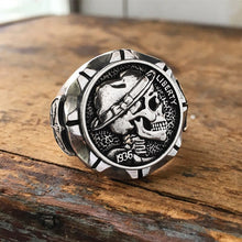 Load image into Gallery viewer, Mexican Style Indian Skull Ring