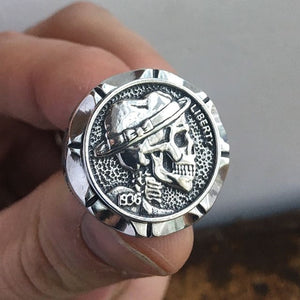 Mexican Style Indian Skull Ring