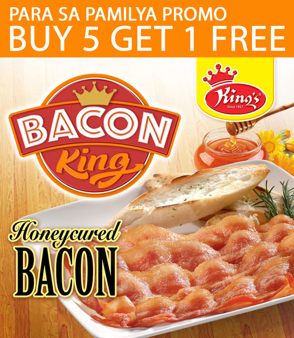 Buy 5 Get 1 Free - Bacon Honeycured