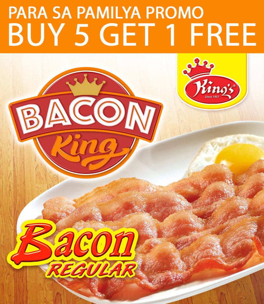 Buy 5 Get 1 Free - Regular Bacon