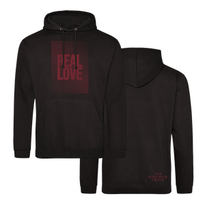 REAL LOVE - Hoody (Black w/Red)