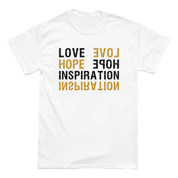 Lovehopeinspo - T-Shirt (White)