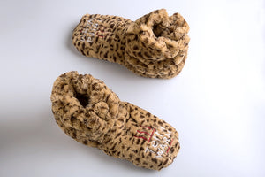 Warming Slippers - Microwave Toes and Feet Warmers Cordless (Cozy Toasty Warming Socks) - Relaxation, Heat, Massaging, and Cold Foot Relief