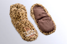 Load image into Gallery viewer, Warming Slippers - Microwave Toes and Feet Warmers Cordless (Cozy Toasty Warming Socks) - Relaxation, Heat, Massaging, and Cold Foot Relief