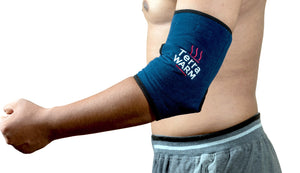 Natural Elbow Wrap and Ankle Wrap Therapy with Pink Salt - Hot & Ice Wrap for BFST, and Plantar Fasciitis, Achilles Tendonitis, Tennis Elbow Stretching Relief using Hot Therapy and Cold Therapy