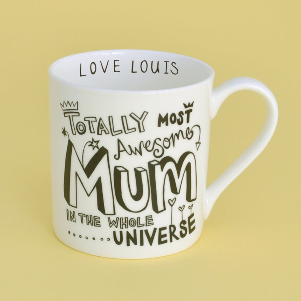 20% Off for Mothers Day B&W Personalised Mum Mug
