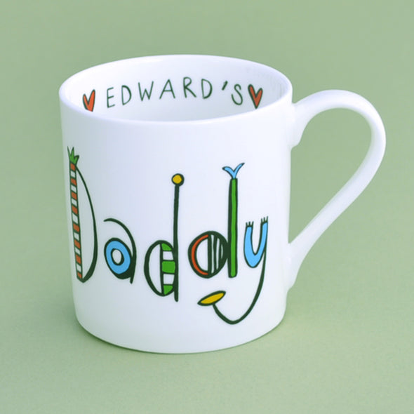 Personalised Daddy Mug