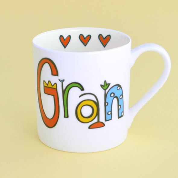 20% Off for Mothers Day Personalised Gran Mug