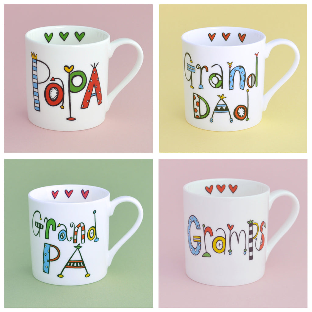 Personalised Gramps Mug
