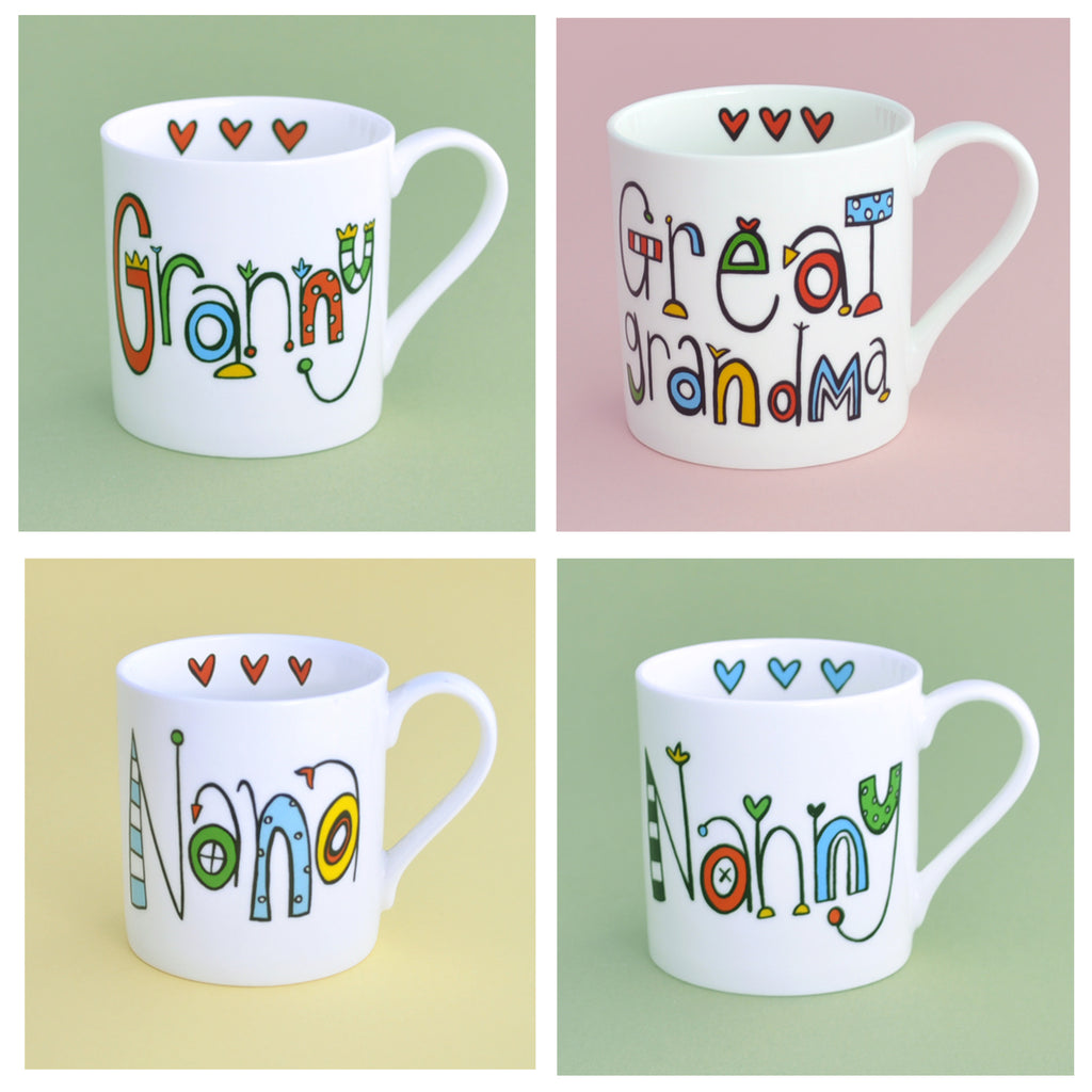 Personalised Granny Mug