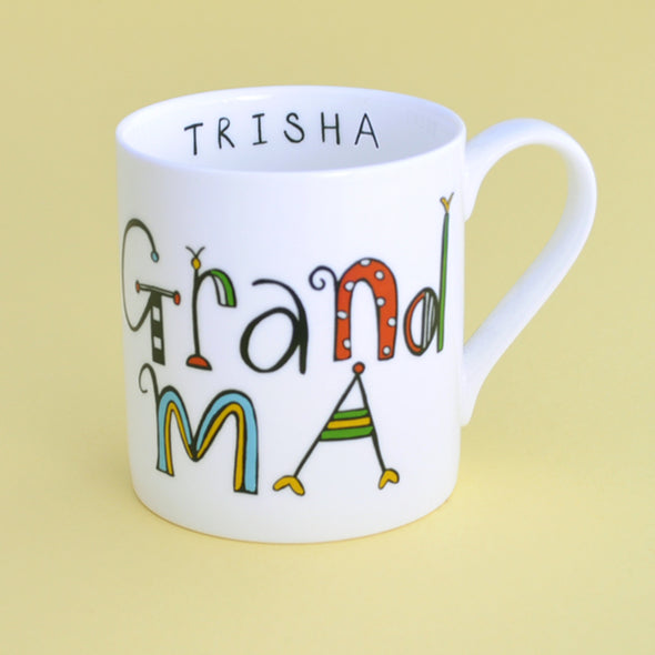 20% Off for Mothers Day Personalised Grandma Mug