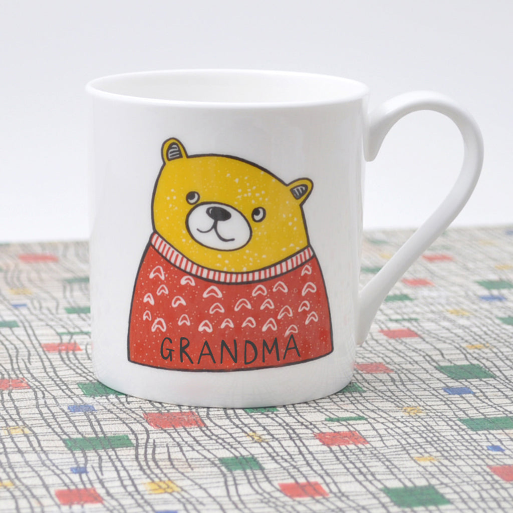 Mothers Day Grandma Bear Mug
