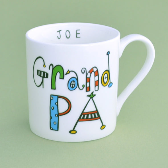 Personalised Grandpa Mug